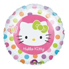 18in hello kitty rainbow Balloon Delivery