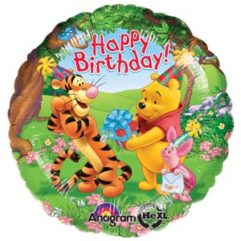 18in pooh and friends birthday Balloon Delivery