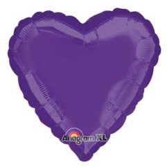 18in purple heart Balloon Delivery