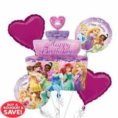 Balloon Bouquet Princess Birthday Cake Balloon Delivery