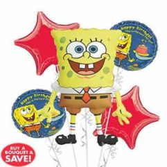 Balloon Bouquet Spongebob Birthday Balloon Delivery