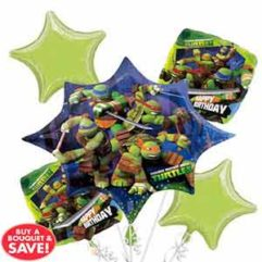 Balloon Bouquet Teenage Mutant Ninja Trutle Balloon Delivery