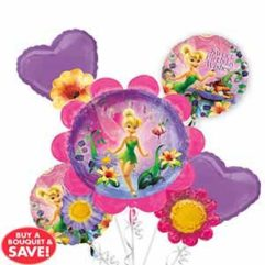 Balloon Bouquet Tinkerbell Balloon Delivery