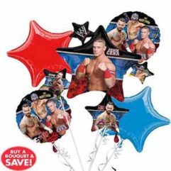 Balloon Bouquet WWE Balloon Delivery