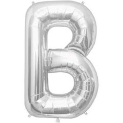 16in silver letters b Balloon Delivery