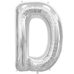 16in silver letters d Balloon Delivery