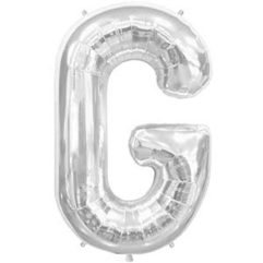 16in silver letters g Balloon Delivery