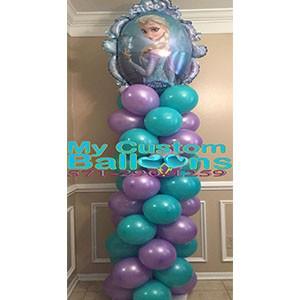 6ft Column Frozen- Elsa 1