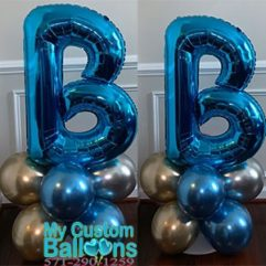 Balloon Letter Cluster Balloon Delivery