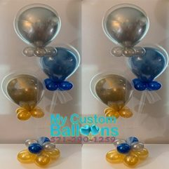 Centerpiece Balloon and tulle Balloon Delivery