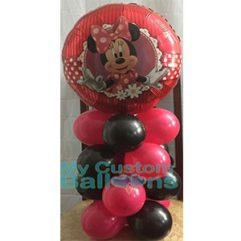 minnie mouse mini column cp 1 Balloon Delivery