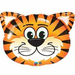 14In Tickled Tiger Balloon Delivery