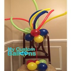 Wacky Standing Table CP 1 Balloon Delivery