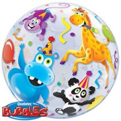 22in party animals bubble Balloon Delivery