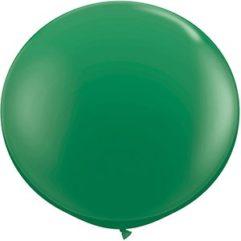 3ft green latex qualatex Balloon Delivery