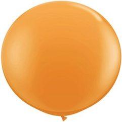 3ft orange latex qualatex Balloon Delivery