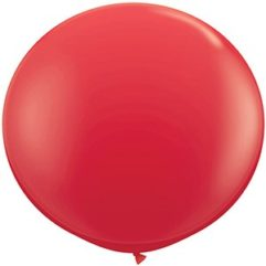 3ft red latex qualatex Balloon Delivery