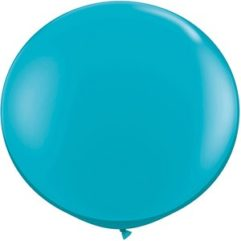 3ft tropical teal latex qualatex Balloon Delivery