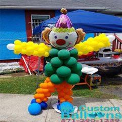 Dancing Clown Sculpture Balloon Delivery