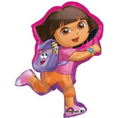 32in Dora Lets Explore Balloon Delivery