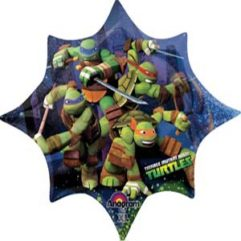 35In TMNT Balloon Delivery