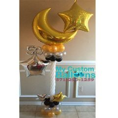 Elegant Table centerpiece Balloon Delivery