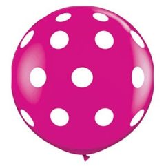 3ft Polka Dot Wild Berry Balloon Delivery