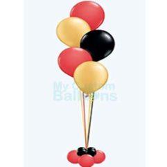 Cascade table centerpiece deluxe 5 balloons Balloon Delivery