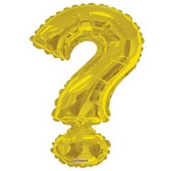 Gold Question 34in Balloon Delivery