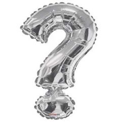 Silver Question 34in Balloon Delivery
