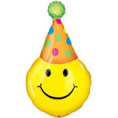 39In Party Hat Smile Balloon Delivery
