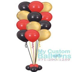 Balloon Tree 12 latex balloons Bouquet or Centerpiece Deluxe Balloon Delivery