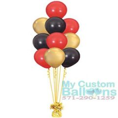Balloon tree 10 latex balloons Bouquet or centerpiece Balloon Delivery