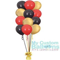 Balloon tree 12 latex balloons Bouquet or centerpiece Balloon Delivery