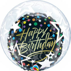 HB Foil inside bubble Balloon Delivery