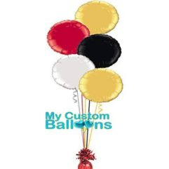 300x300 circle foil Balloon Delivery
