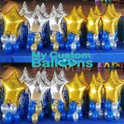 Star Balloon Centerpiece Balloon Delivery