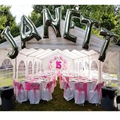 Letter Arch Balloon Delivery