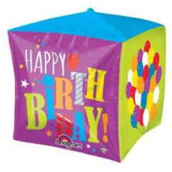 15In Birthday Balloons Cubez Balloon Delivery