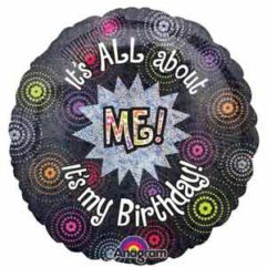 18In Its All About Me Its My Birthday Balloon Delivery