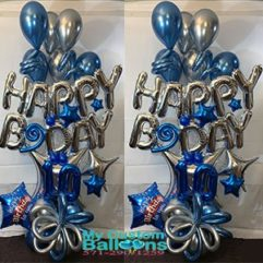 BDay Gift Bouquet Balloon Delivery