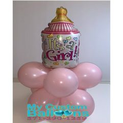 Baby Bottle balloon Weight Balloon Delivery