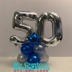 Balloon weight large Numbers Balloon Delivery
