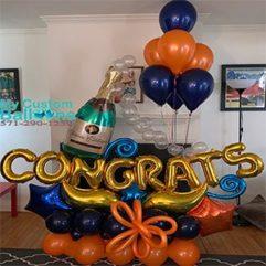 congrats arrangment Balloon Delivery