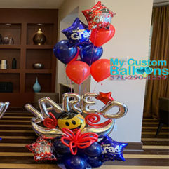 Custom Special Occasion Arrangement Balloon Delivery