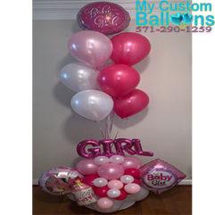 Baby Arrangement Balloon Delivery