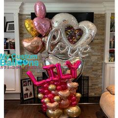 Birthday Arrangement Balloon Delivery