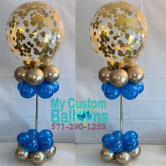 16in Confetti Centerpiece Balloon Delivery