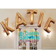 5 letter arch Balloon Delivery
