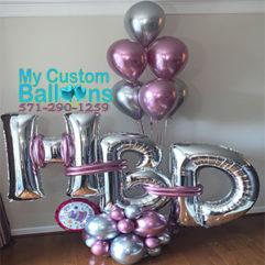 HBD Arrangement Balloon Delivery